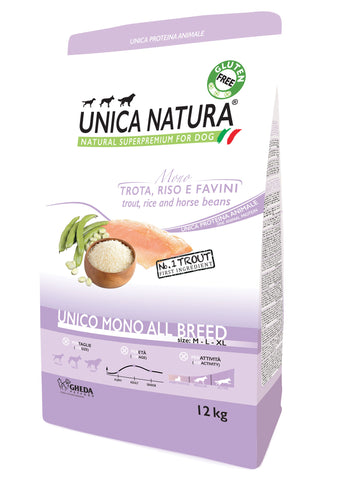 Unico All breed mono - Trota 12kg