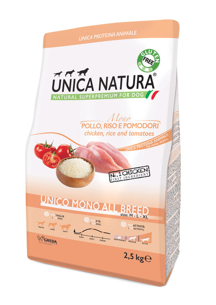 Unico All breed mono - Pollo 2,5kg