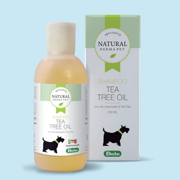 SHAMPOO TEA TREE OIL 200 ML