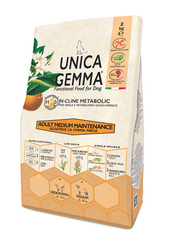 Unica Gemma Adult Medium Pollo,Riso - Maintenance 10kg