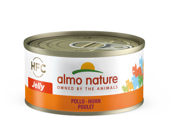 HFC CAT Jelly - Pollo 70gr, 140gr e 280gr