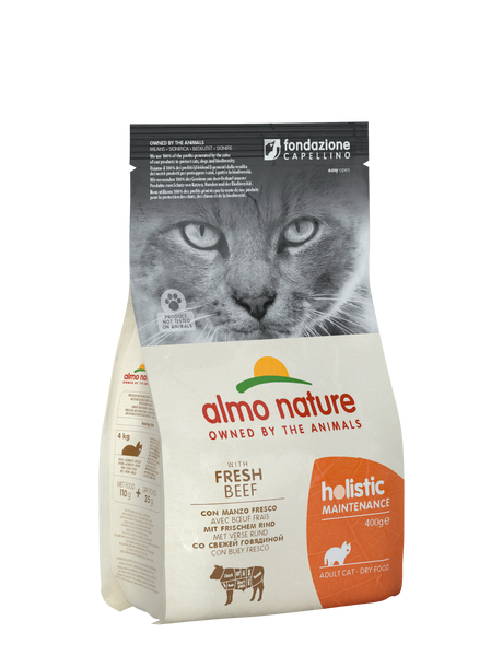 HOLISTIC CAT Manzo fresco 400gr e 2kg