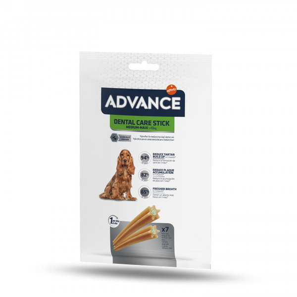 ADVANCE Dental Care Stick med/maxi 180gr