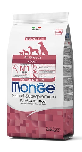 All Breeds Adult Monoprotein Manzo con Riso