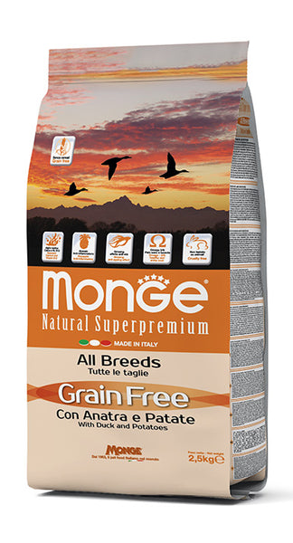 Grain Free con Anatra e Patate – All Breeds