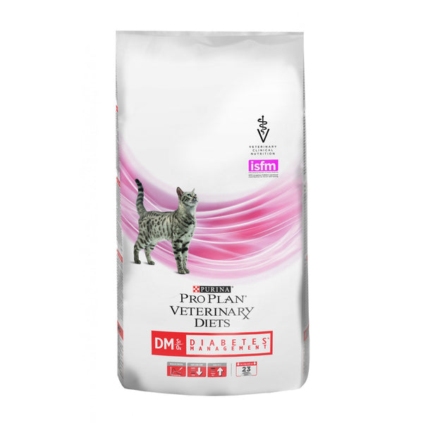 PURINA PRO PLAN VETERINARY DIETS secco gatto DM Diabetes Management St/Ox 1,5KG