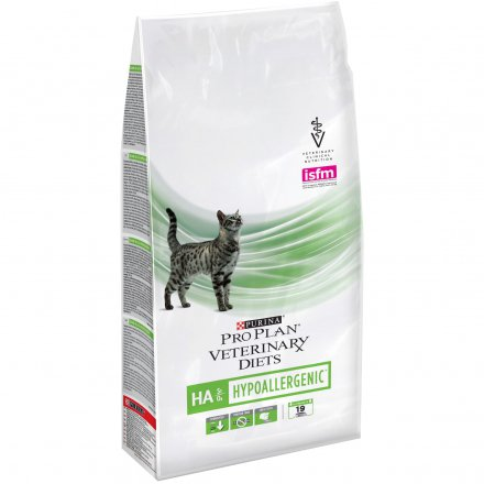 PURINA PRO PLAN VETERINARY DIETS secco gatto HA Hypoallergenic St/Ox 1,5KG