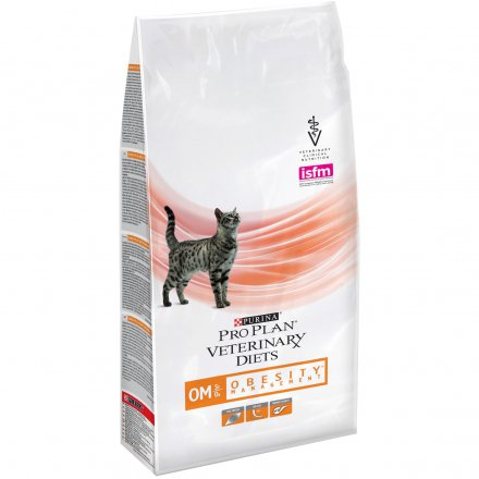 PURINA PRO PLAN VETERINARY DIETS secco gatto OM Obesity Management St/Ox 1,5KG