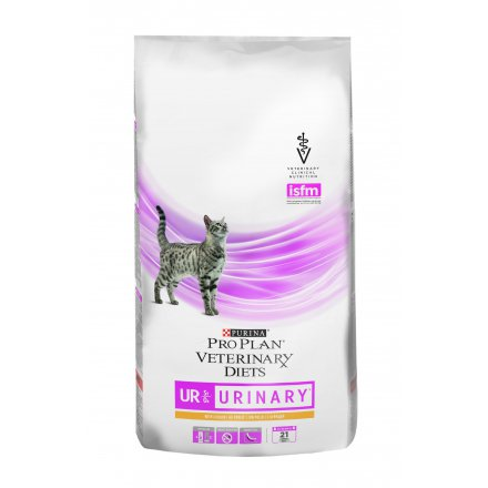 PURINA PRO PLAN VETERINARY DIETS secco gatto UR Urinary St/Ox ricco in Pollo 1,5kg