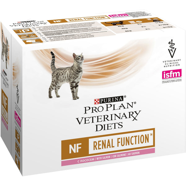 PURINA PRO PLAN VETERINARY DIETS umido gatto NF Renal Function St/Ox in busta 10X85GR