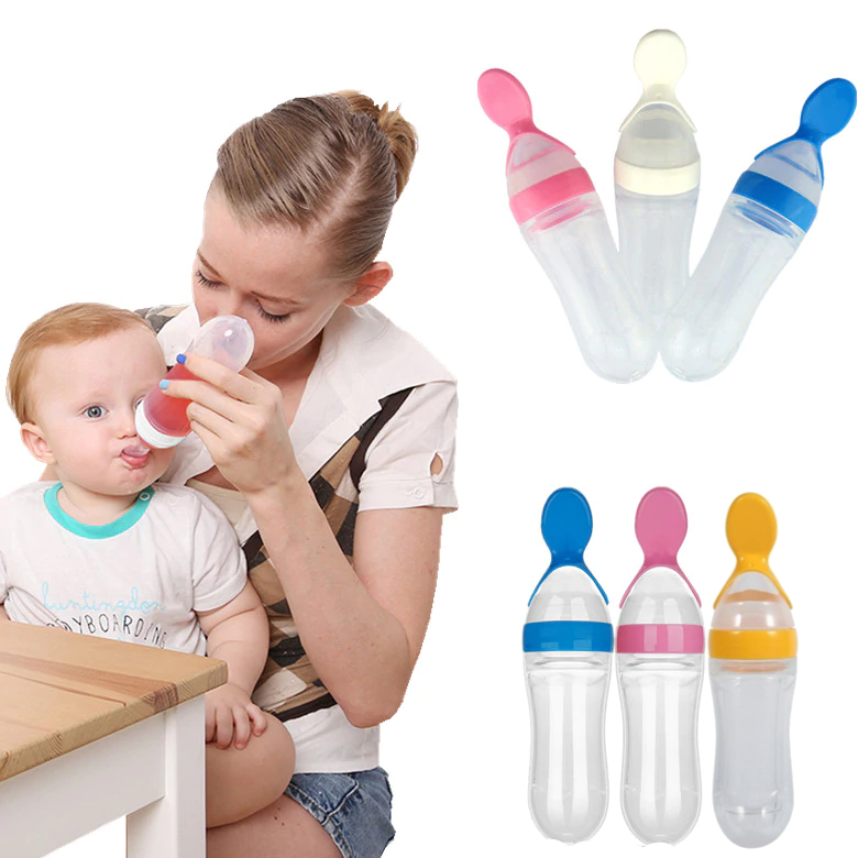 EASY BABY FEEDER SPOON BOTTLE – Premoise