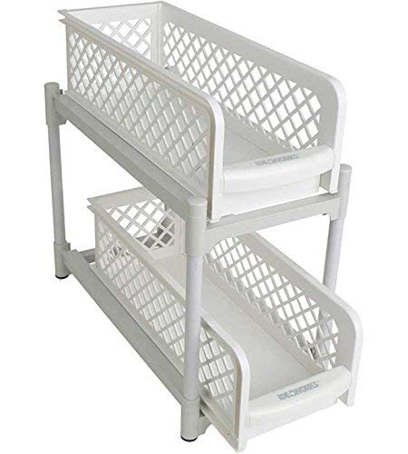 "MyHome - 2 Tier Basket Drawers,6"" Drwr"