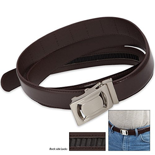 Jobar - Click N' Go Fashion Belt-Brown