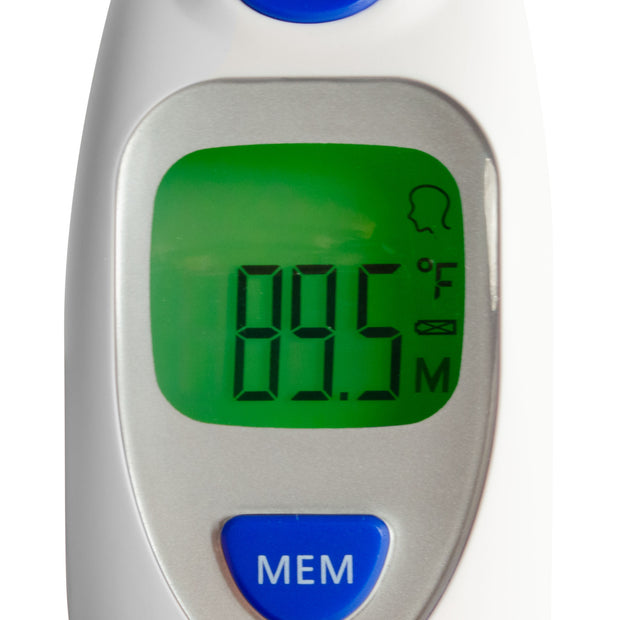 North American Wellness Color-Coded Digital Thermometer for Ear//Forehead