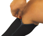 North American Wellness - Zipper Compression Socks-Md-Bk