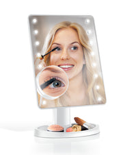 IdeaWorks - White-Makeup Mirror