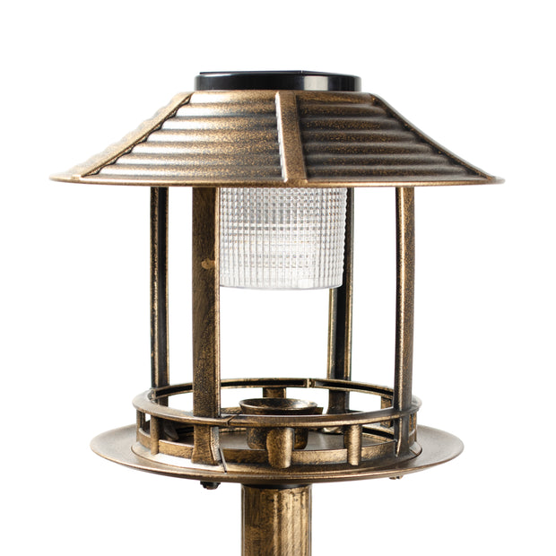 IdeaWorks - Bird Bath Solar Light &Planter