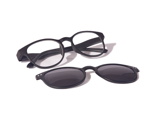 North American Wellness - Black-Magnet Sun Clip Readers