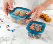 Handy Gourmet - S/2 Flexi-Top Containers Sq