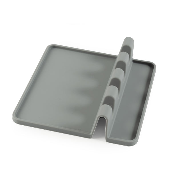 Handy Gourmet - 4-Slot Silicone Utensil Rest