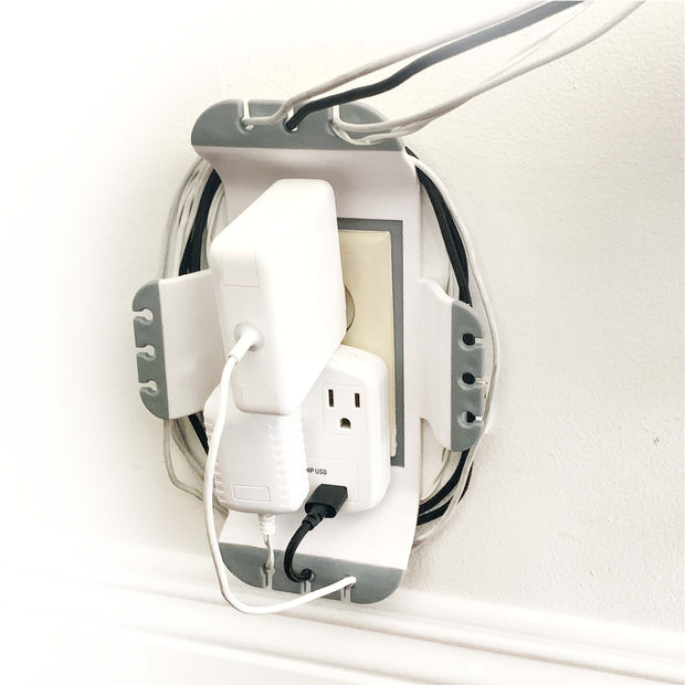 IdeaWorks - Cable Outlet Organizer