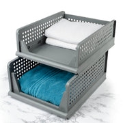 My Home - S/2 Stacking Basket Set