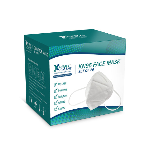 North American Wellness - S/20 Kn95 Face Mask