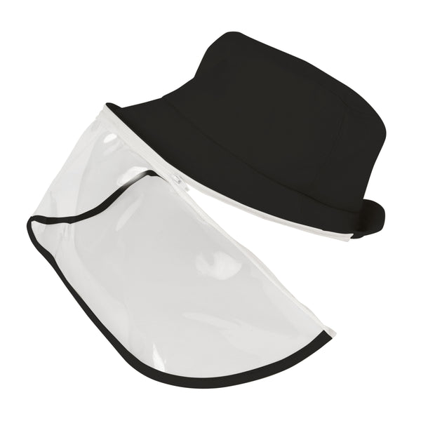 North American Wellness - Xpert Care Face Shield w/ Hat - Black