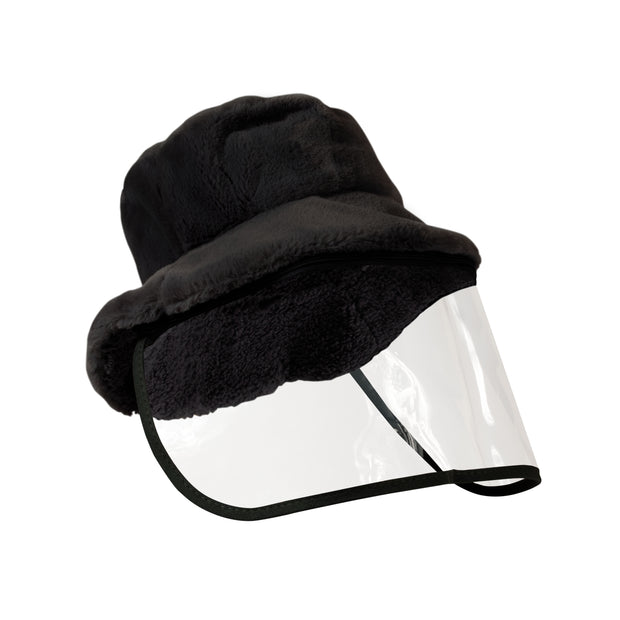 North American Wellness - Xpert Face Shield w/ Winter Hat - Black