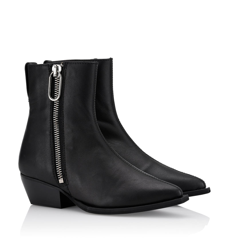 Gardenia Copenhagen Berlin Short Boot Black