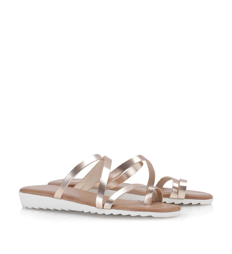 Shoe Biz Maya Sandal - Soft Copper
