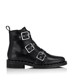 Shoe Biz Nubris Short Boot Black