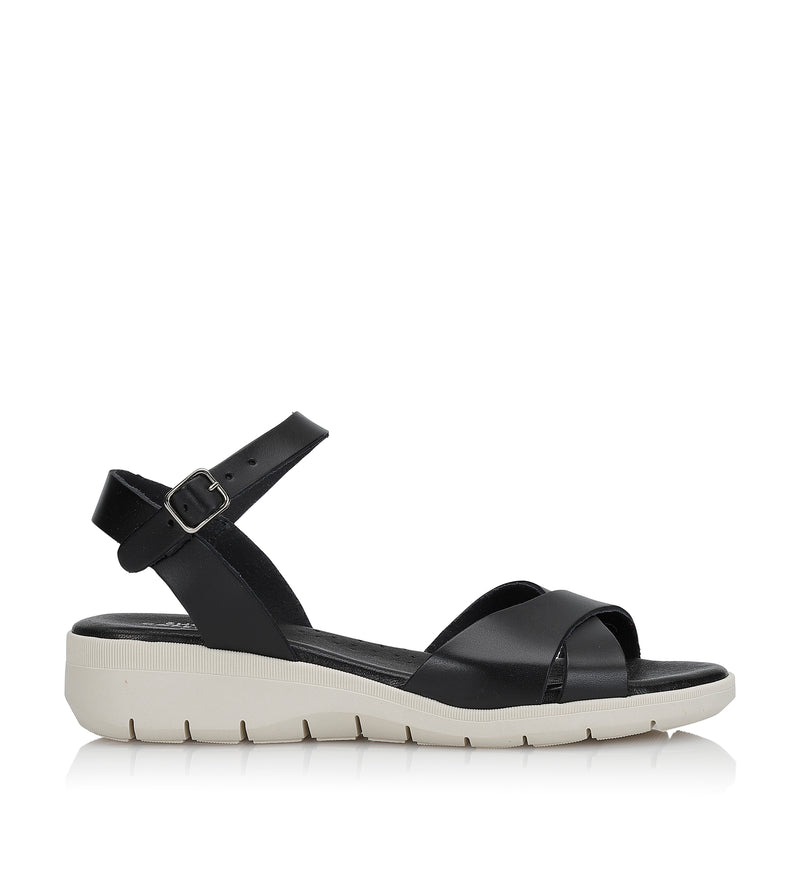 Shoe Biz Nunu Sandal - Soft Black