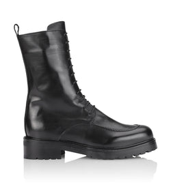 Gardenia Copenhagen Opique Short Boot Black