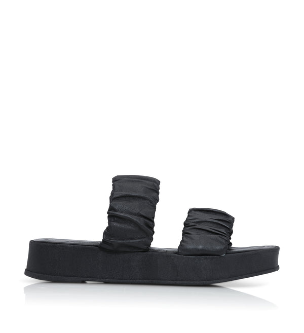 Shoe Biz Sana Slipper Black