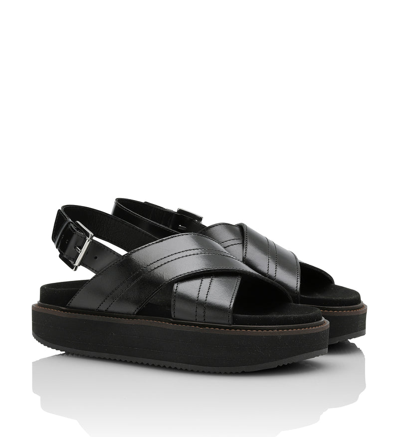 Shoe Biz Volcana Sling Back Black