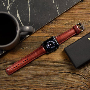Leather Apple Watch Band 38mm