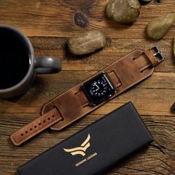 leather apple watch band
