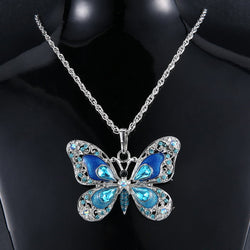 Long Butterfly Necklaces