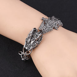 Punk Dragon Charm Bracelets