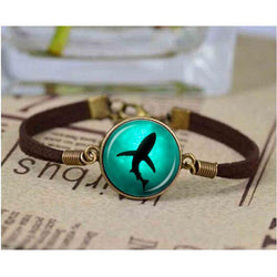 Sea Marine Leather Bracelets