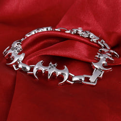 Stainless Steel Bracelet Bat