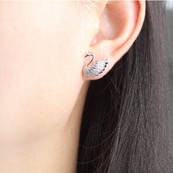 New Swan Shape Earrings