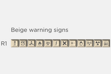 Load image into Gallery viewer, SA Carbon Warning Signs Kit