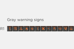 SA Carbon Warning Signs Kit