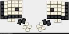 Load image into Gallery viewer, Dactyl & Dactyl Manuform Keycaps