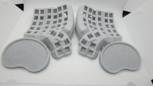 Dactyl/Manuform Cases by Crystalhand