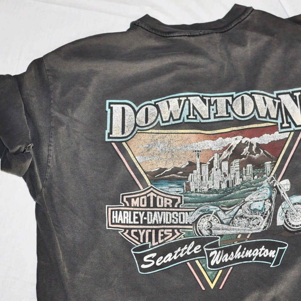 Harley Davidson Seattle >> Harley Davidson Seattle Washington Tshirt Size Xl