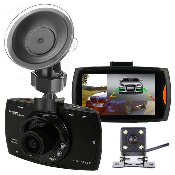 Portable Mini Car DVR Backup Camera Full HD 1080P Dual Lens G30 Dash Cam Vehicle Video Recorder Black Box Night Vision G-Sensor