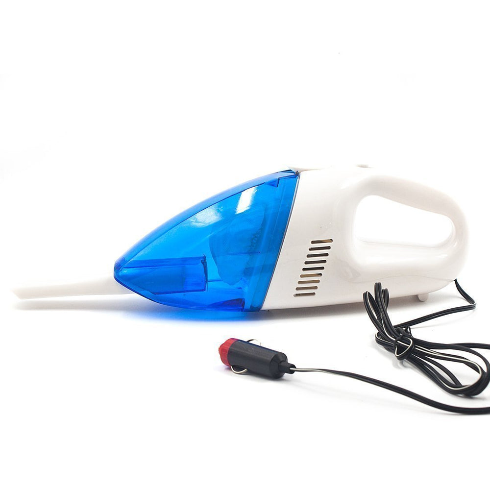 Mini Portable Car Vehicle Recharge Handheld Vacuum Cleaner (Blue)